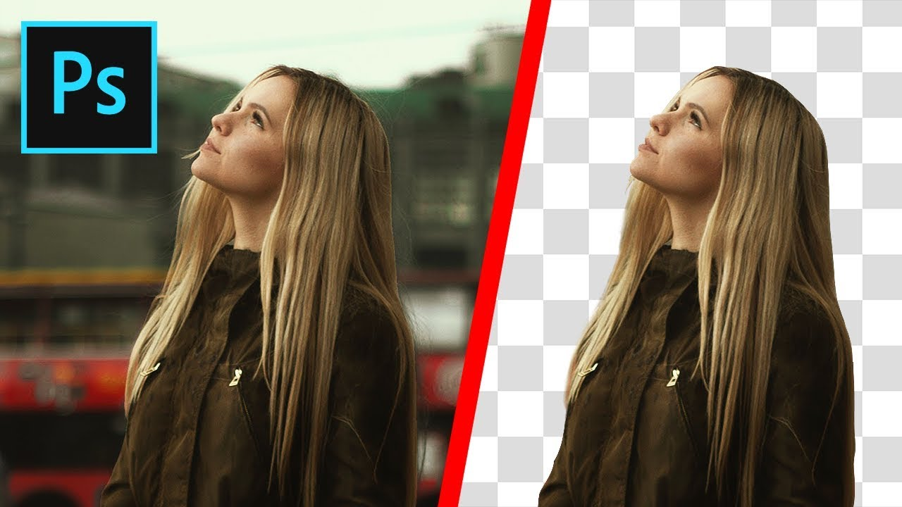 Photoshop How To Cut Out An Image Remove Delete A Background Youtube