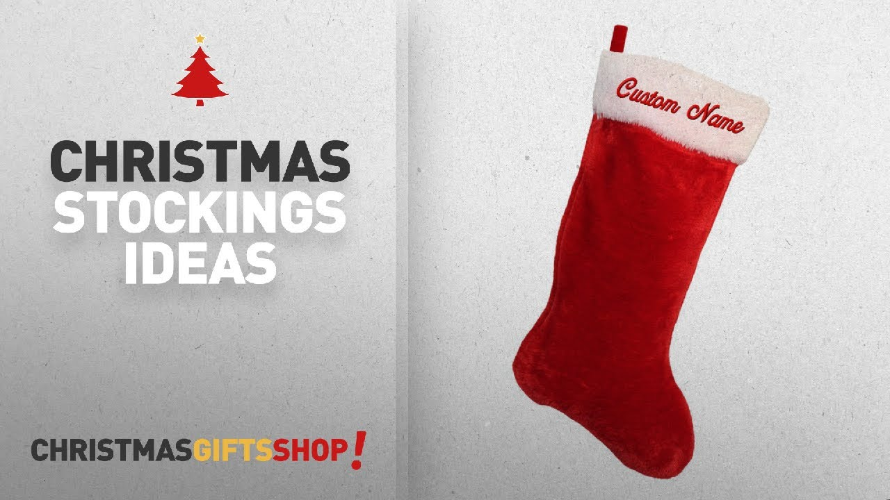 Top Christmas Stockings Custom: Christmas Stocking with CUSTOM ...