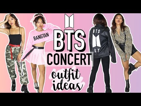 BTS (BANGTAN BOYS) CONCERT OUTFIT IDEAS! 방탄소년단 | CELEBRITY INSPIRED TUTORIALS | Nava Rose