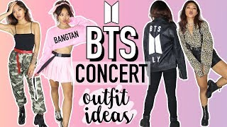 BTS (BANGTAN BOYS) CONCERT OUTFIT IDEAS! 방탄소년단 | CELEBRITY INSPIRED TUTORIALS | Nava Rose