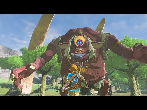 BRUCE FIGHTS GIANTS! - Legend of Zelda: Breath of the Wild Gameplay Part 7