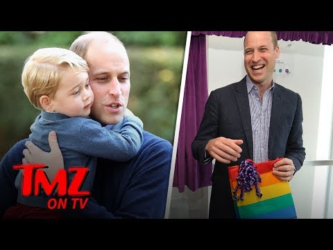Prince William Asked How He Would React If His Son Is Gay | TMZ TV