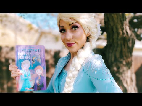 Story Time Elsa Read Aloud FROZEN 2 FOREVER FRIENDS Magic Educational Fun For Children & Toddlers