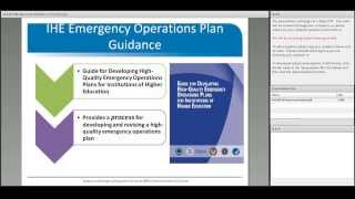 Using Federal Resources to Enhance Campus Security and Emergency Management Planning Webinar