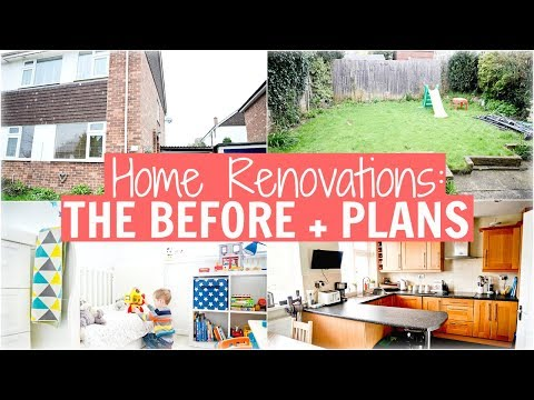 HOUSE RENOVATIONS - THE BEFORE + PLANS | 2 STOREY FRONT EXTENSION + KITCHEN + GARDEN MAKEOVER