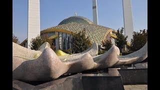 Чечня! Аргун! Мечеть имени Аймани Кадыровой!