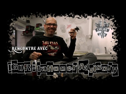 Igor a.k.a. Tattooer Advisory, Tattoo Full Black à Lyon : Color My Skin saison 2 Ep. 4