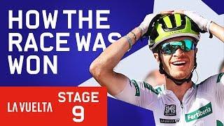 How The Race Was Won   Vuelta a España Stage 9   Cycling   Eurosport