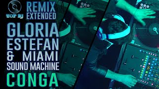 Gloria Estefan & Miami Sound Machine - Conga REMIX by Damianito | TOP DJ 2015