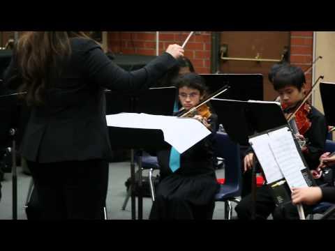 San Gabriel Christian School Senior Strings - SCSBOA Performance