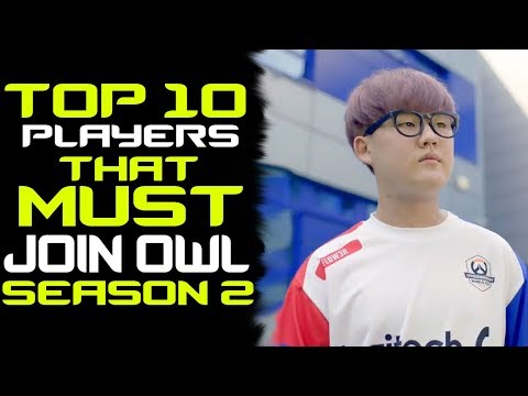 Overwatch Players That MUST Join Overwatch League Season 2! thumbnail