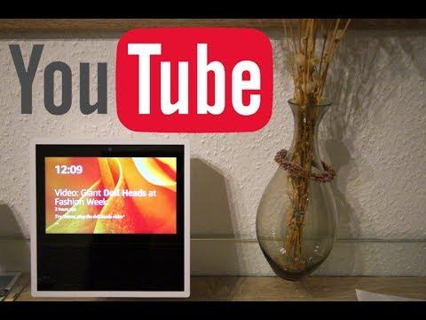 amazon echo show youtube mit alexa steuern youtube. Black Bedroom Furniture Sets. Home Design Ideas