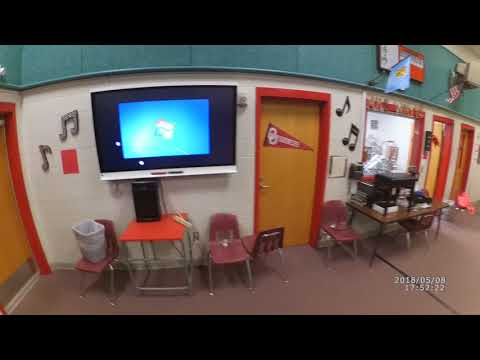 Ardmore Middle School Oklahoma 5inch water flood 1 commercial residential water damage removal