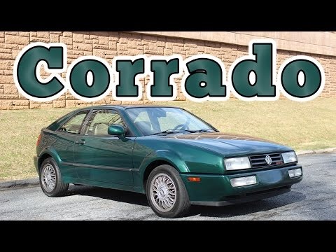 1992 Volkswagen Corrado VR6: Regular Car Reviews