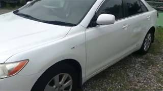 Видео-тест автомобиля Toyota Camry (Acv40-3041359 2006г)