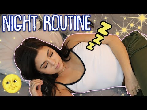 Nighttime Routine 2018 | Steph Pappas