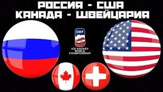 Россия США / Канада Швейцария / Чемпионат Мира / Смотрим матчи