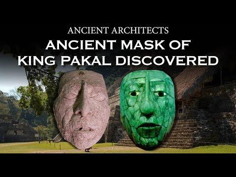 Ancient Mask of Maya King Pakal Discovered | Ancient Architects