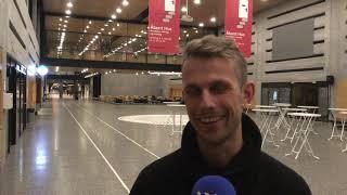 Kenneth Hansen efter sin sølvmedalje ved DM i Cross (2019)