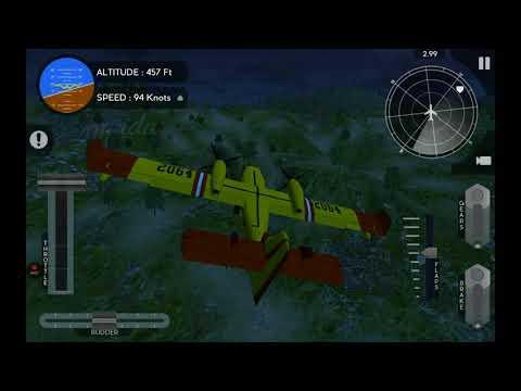 Crucial Hopping | Canadair CL415 | Avion Flight Simulator | Realistic mode | aeroplane sim