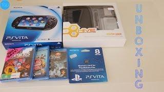 MASSIVE UNBOXING: Playstation Vita + Games + Accessories!