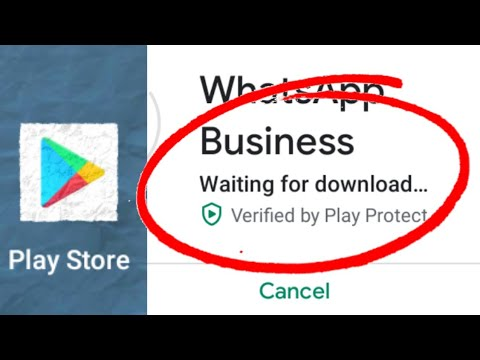 Fix Play Store Waiting For Download Problem Solved 2020
