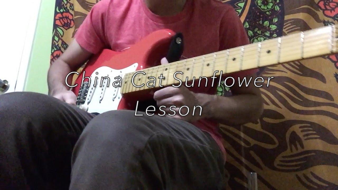 China Cat Sunflower Grateful Dead Guitar Lesson