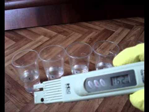Пить сырую воду ? Тест воды на пригодность для питья