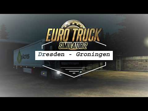 Euro Truck Simulator 2   Produce From Dresden to Groningen