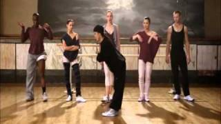 street dance - breakin point teaching the ballet dancers