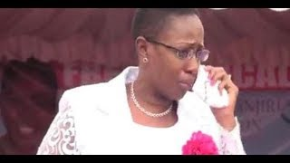 Inside Politics: Sabina Chege sheds tears during a rally