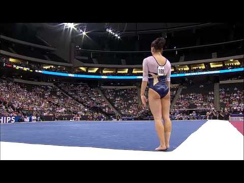 Alicia Sacramone - Floor Exercise - 2011 Visa Championships - Women - Day 1