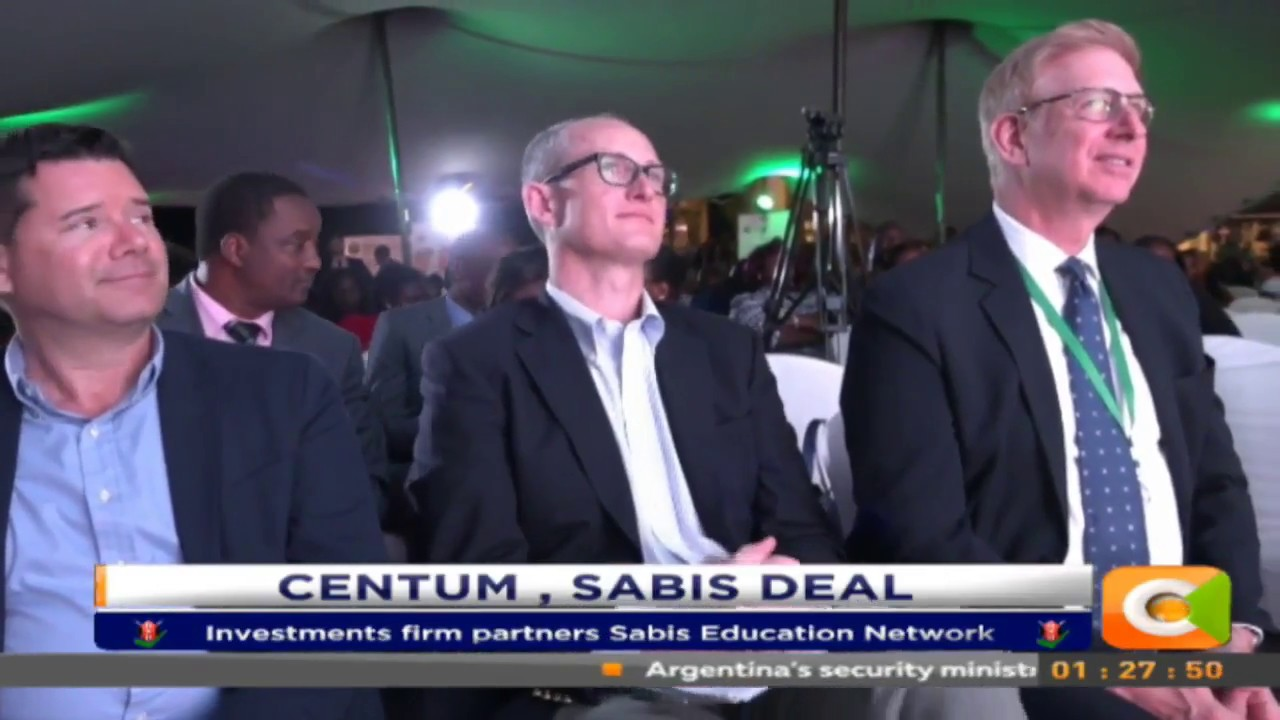 Centum investments ventures into education