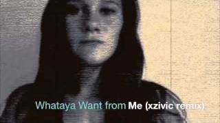 Whataya Want From Me - Adam Lambert (xzivic remix)
