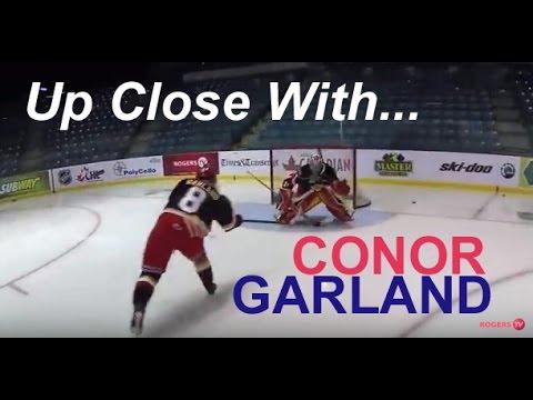Conor Garland - Moncton Wildcats - QMJHL scoring sensation's intense hockey skills