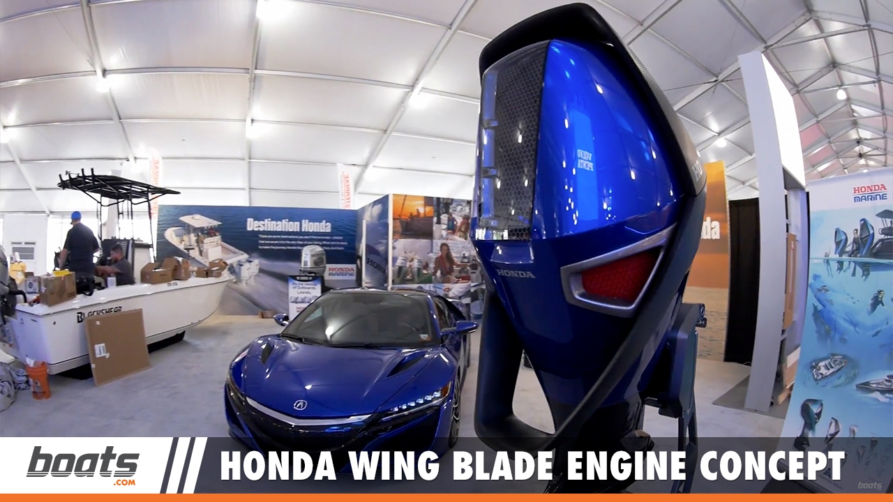 Honda Wing Blade Engine Concept First Look Video