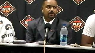 3/16/11 - Coach Haith, Malcolm Grant & Reggie Johnson following win over FAU