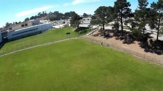Quadcopter Crash Mid-Air Collision - Destroying a NightHawk 250 Quadcopter