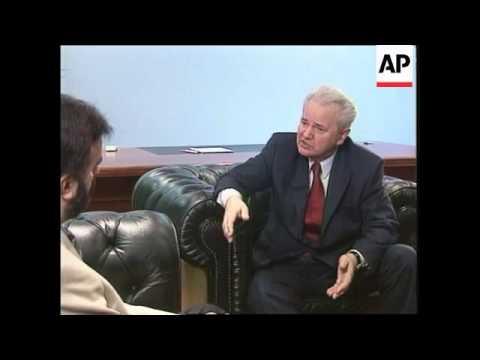 YUGOSLAVIA: SLOBODAN MILOSEVIC INTERVIEW