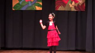 Solo dance performance - Anushka  SinghaRoy - 2012 Durga Puja