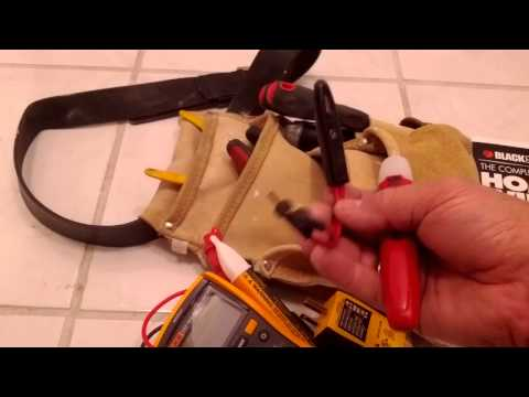 DIY Electrical Tools, Toolbag & Manual