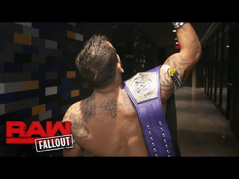 Thumbnail: Kalisto dedicates his WWE Cruiserweight Title victory to Eddie Guerrero: Raw Fallout, Oct. 9, 2017