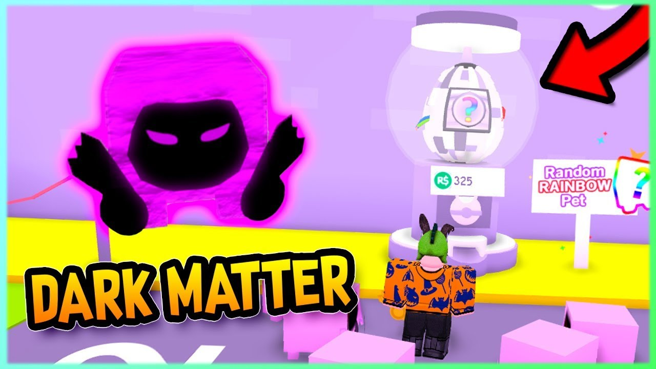 Dark Matter Roblox - New Dark Matter Pets Pet Simulator Update 11 Roblox Youtube