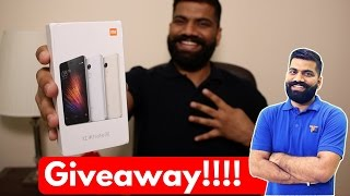 Xiaomi Redmi Note 4 Unboxing & Giveaway - My Opinions