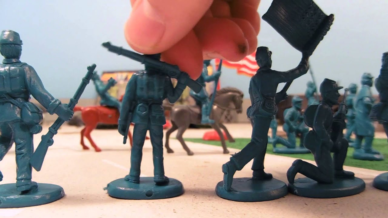 Civil War Army Men Toys 27