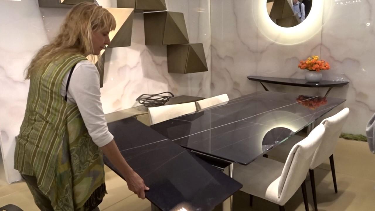 Tavoli Cristallo Allungabili Reflex.Policleto Vetro Marmo By Refex Youtube