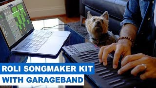 ROLI Songmaker Kit with GarageBand - How to make a beat!