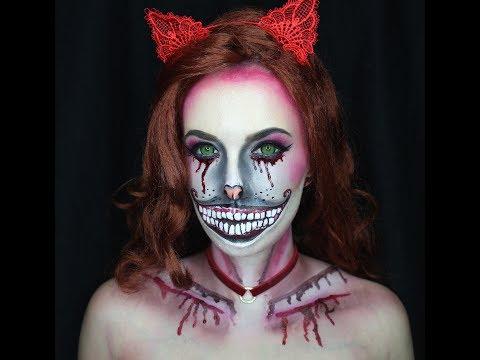 Halloween makeup under $10!! (Cheshire Cat)