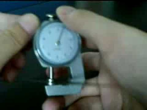 Precision Thickness Measurement Gauge Tool
