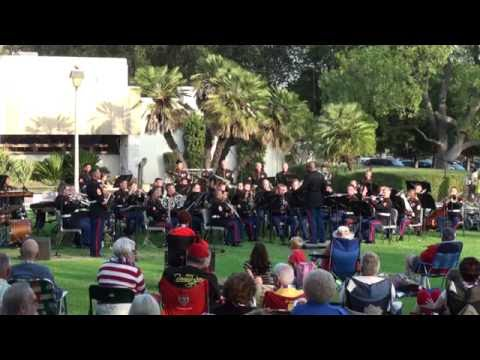 1st Marine Division Band - Arcadia Concert in the Park, July 2012